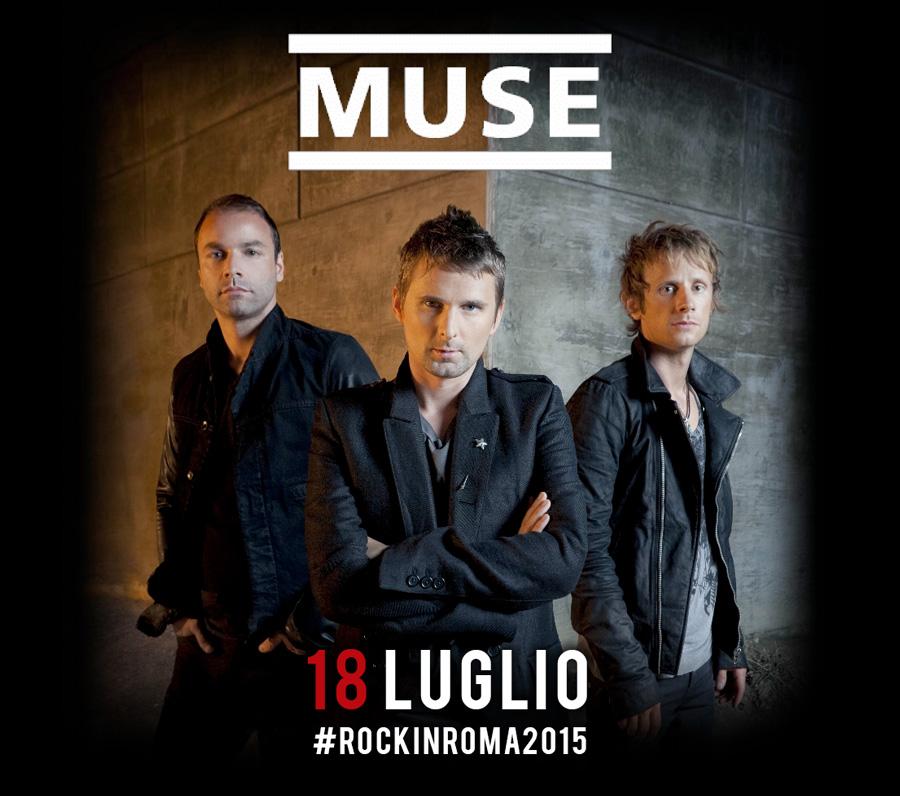 Muse, Concerto a Rock in Roma il 18 Luglio 2015