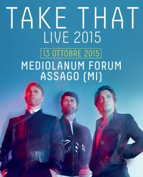 Il Concerto dei Take That al Forum di Assago
