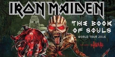 Iron Maiden Concerti 2016 – Le Date di Luglio
