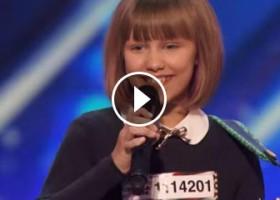 La piccola e grandissima Grace VanderWaal's ad America's Got Talent